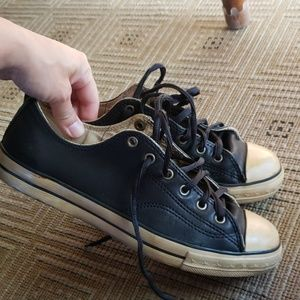 Converse vintage John varvatos leather sneakers